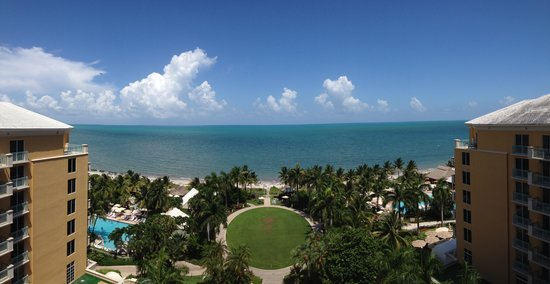 The Ritz-Carlton Key Biscayne, Miami: View from our ocean-front, Concierge Level room.