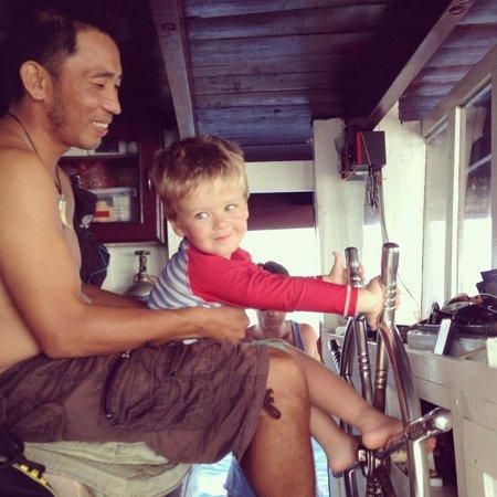 Blue Coral Diving: Captain Harry