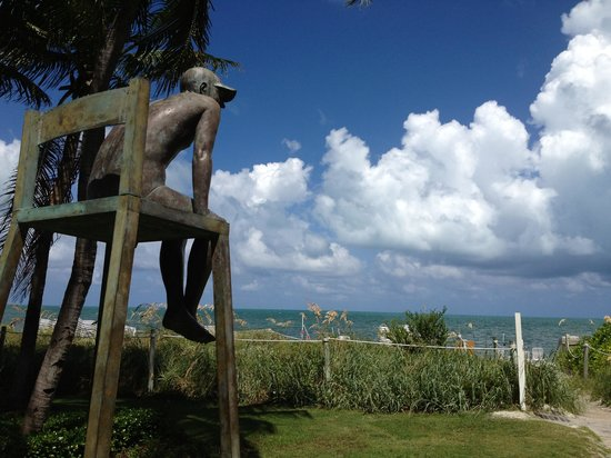 The Ritz-Carlton Key Biscayne, Miami: The ever-watchful lifeguard...