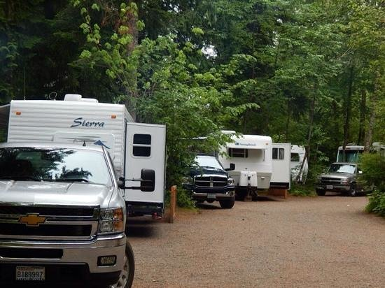 Harmony Lakeside RV Park: Our four camp sites