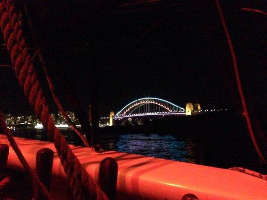 Sydney Harbour Tall Ships: Vivid