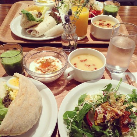 Hotel Anteroom Kyoto: 野菜たっぷりの朝食