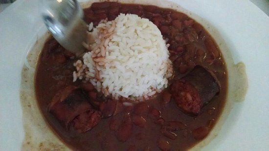 Tujague's Restaurant : Red Beans & Rice. Nothing special. Sorta bland and sausage not excellent quality.