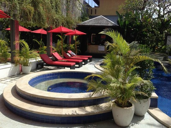 Spartacvs Bali Hotel : Newly re tiled spa