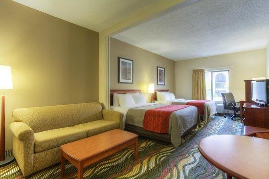 Comfort Inn & Suites - Lookout Mountain: Queen Suite with Sitting Area