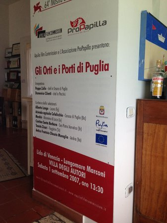 Porta di Basso: Chef was featured in a movie about local Puglian Food and the Slow food movement