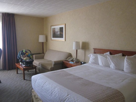 Best Western North Bay Hotel & Conference Centre: Our room