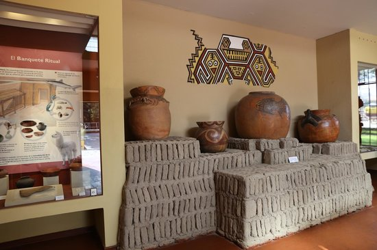 Huaca Pucllana: The little museum at the entrance