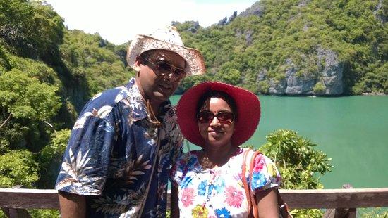 Tours Koh Samui: Lagoon from Viewpoint at Angthong