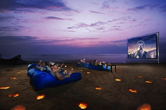 Ungasan, Endonezya: Movie Night at Karma Beach Bali