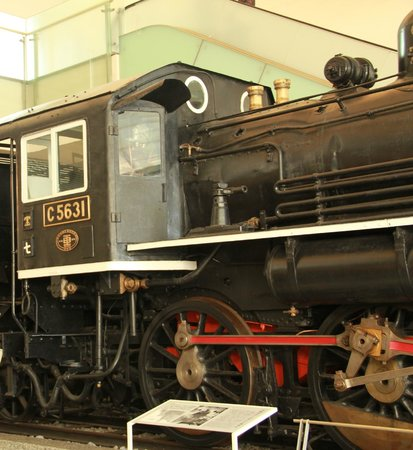 Yasukuni Shrine: Steam locomotive