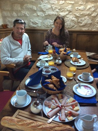 Le Clos de la Garde : Breakfast