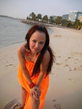 Traders Hotel, Qaryat Al Beri, Abu Dhabi: Пляж