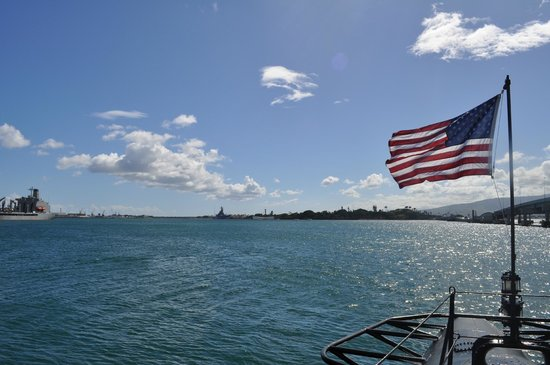 USS Arizona Memorial: View