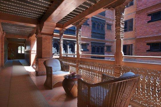 Kantipur Temple House: Courtyard