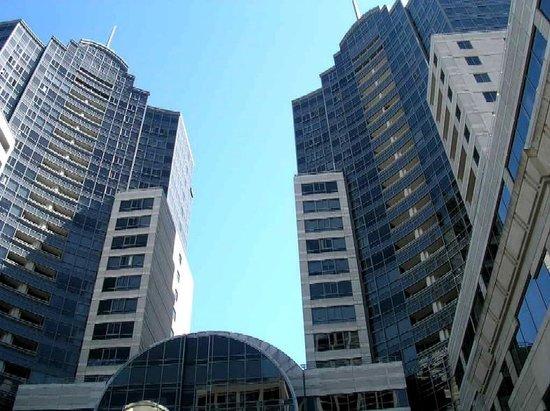 JW Marriott San Francisco Union Square: 多分これがホテルマリオットだえお思います。