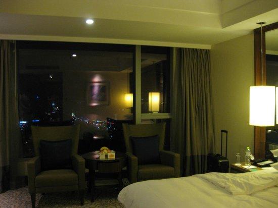 Shangri-La Hotel Ningbo: シティービュー