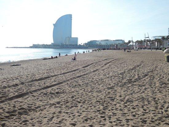 Hotel Espana: The beach