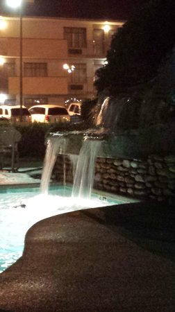 Best Western Plaza Inn: FRONT OUTDOOR POOL WATER FALL