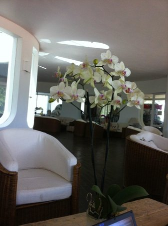 Hotel Flamingo: в холле