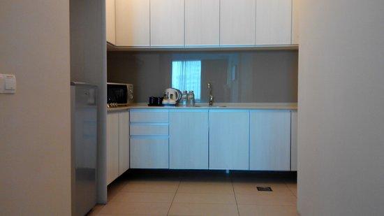 The Residences @ Swiss-Garden Hotel & Residences Kuala Lumpur : Kitchenette