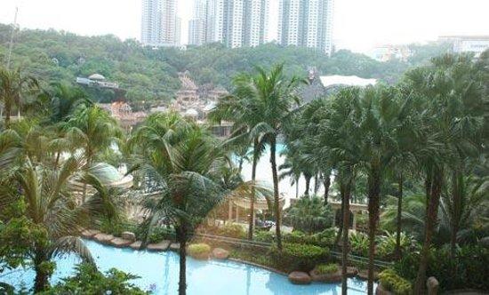 Sunway Resort Hotel & Spa : View lagoon dari kamar