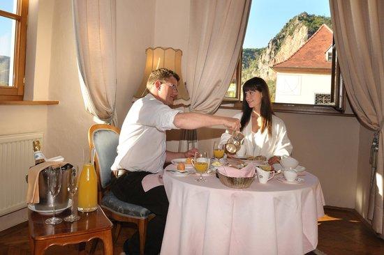 Hotel Schloss Dürnstein: Zimmerfrühstück