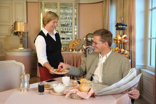 Hotel Schloss Dürnstein: Frühstück