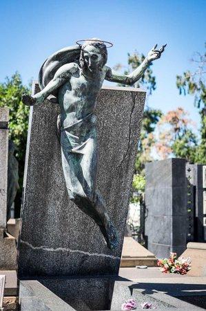 Cimetière Monumental : Grave, Monumental Cemetery, Milan