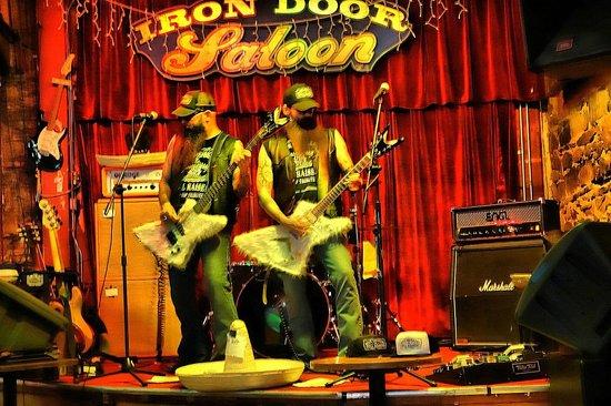 Iron Door Saloon and Grill: Iron Door Saloon - ZZ Top tribute band