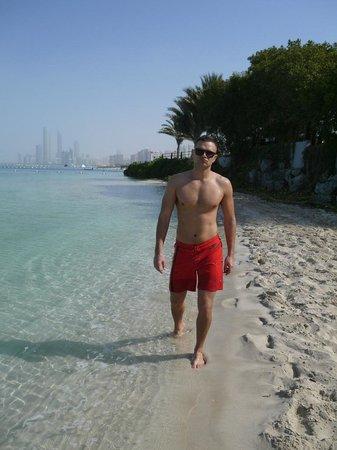 Hilton Abu Dhabi: Пляж