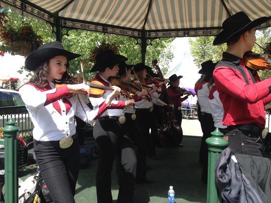 Calgary Fiddlers performing at Spruce Meadows - June 2014