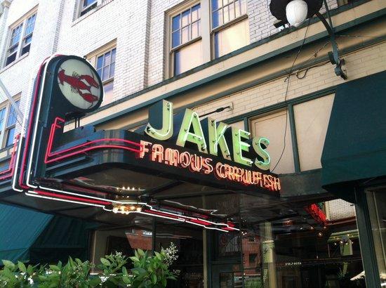 Jake's Famous Crawfish: Good food. Good beer.