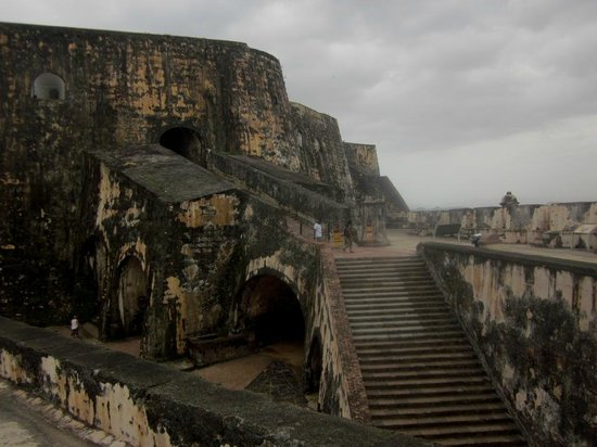 Castillo San Felipe del Morro: Внутри