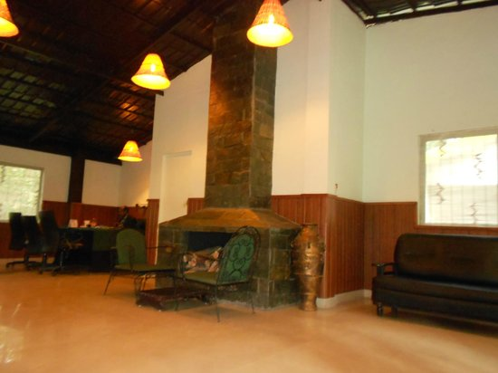 Woodpecker Resort: Reception area