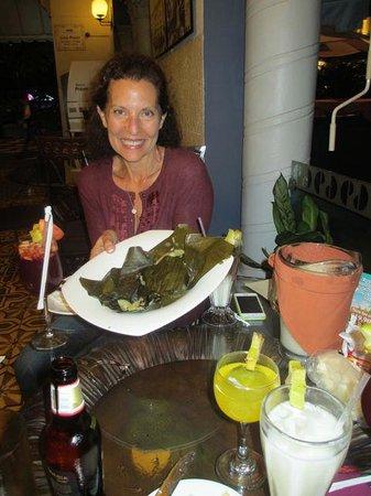 Gran Hotel Costa Rica: Tamales