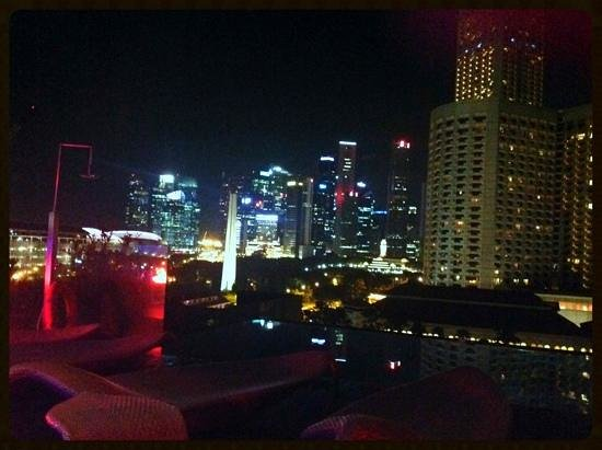 Naumi Hotel: View from the rooftop bar