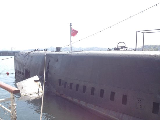 Le musée Rahmi M. Koç : подводная лодка
