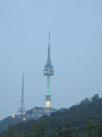Grand Hyatt Seoul: view from room