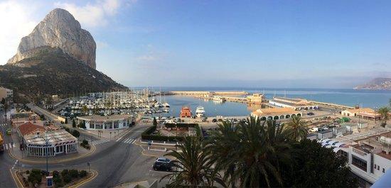 Hotel Porto Calpe: Vistas desde la 402