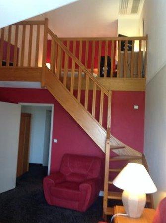 Hôtel de la Foret d'Orient : our room