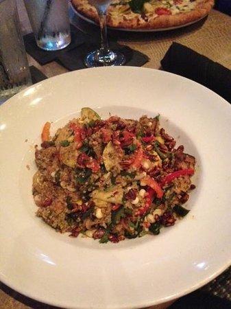 Granville: poblano quinoa