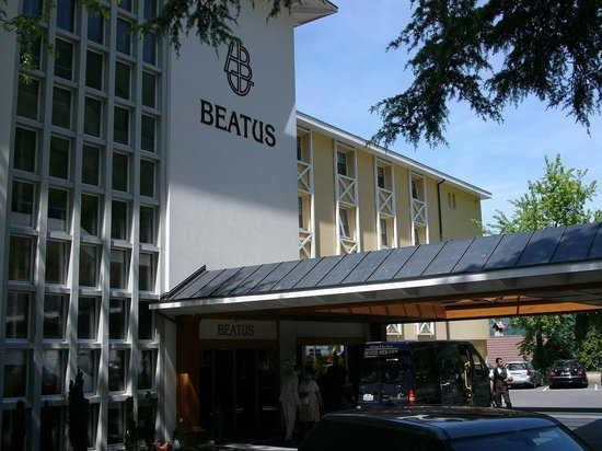 BEATUS Wellness- & Spa-Hotel: Arrival