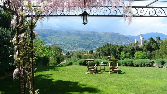Villa Kilauea B&B : Terrasse suite Orchidée