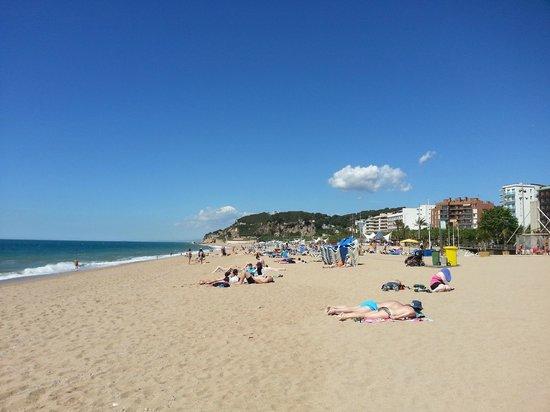 Hotel Mar Blau : Городской пляж
