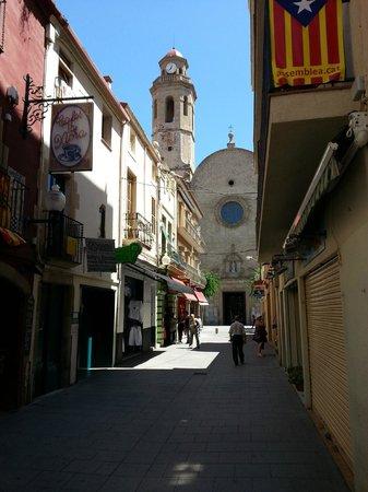 Hotel Mar Blau: Церковь