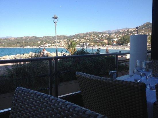 Restaurant L'Escale : Vue depuis la terrasse