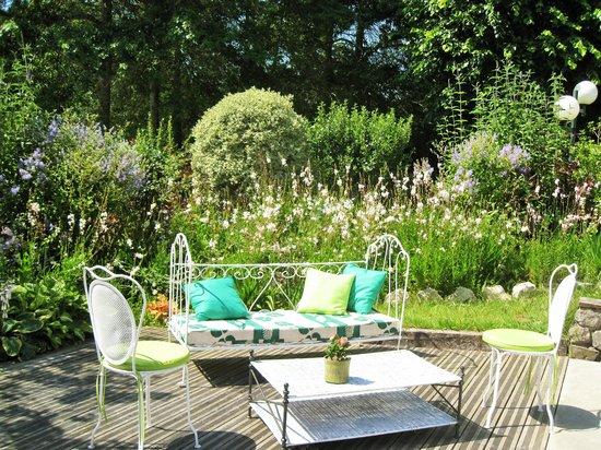 Domaine de Millox : coin jardin