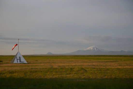 Hella, Islandia: Hekla is a part of the scenery
