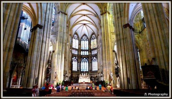 Dom St. Peter: Internal View